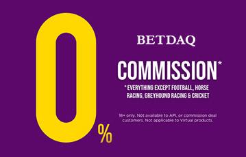 Betdaq 0% commission