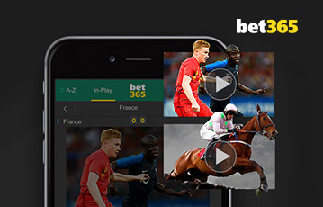 Bet365 sport overview mobile