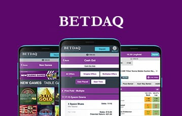 Betdaq sport overview and design