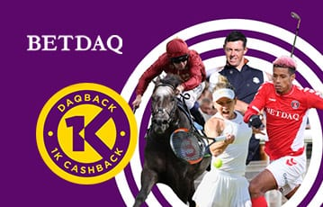 Betdaq sports betting cashback offer