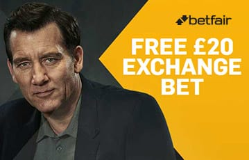 Betfair bonus £20 exchange bet offer