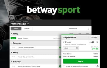 Betway Online Sports Betting