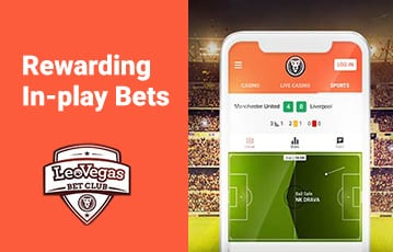 LeoVegas mobile in-play betting