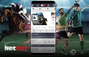 NetBet mobile sports betting