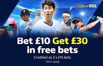 William Hill Sports Bonus